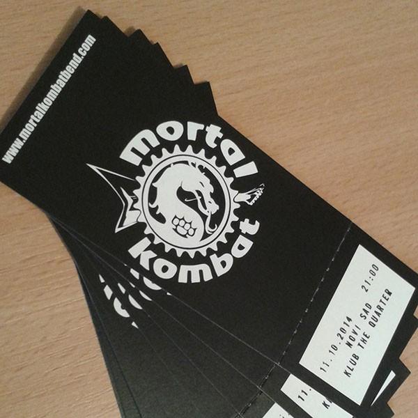 Karta za novosadski koncert 11.10.2014.