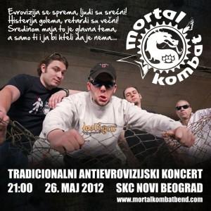 Antievrovizijski koncert 2012 - Plakat