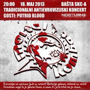 Antievrovizijski koncert 2013 - Plakat