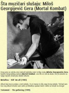 20.01.2013 - BALKANROCK muzički magazin