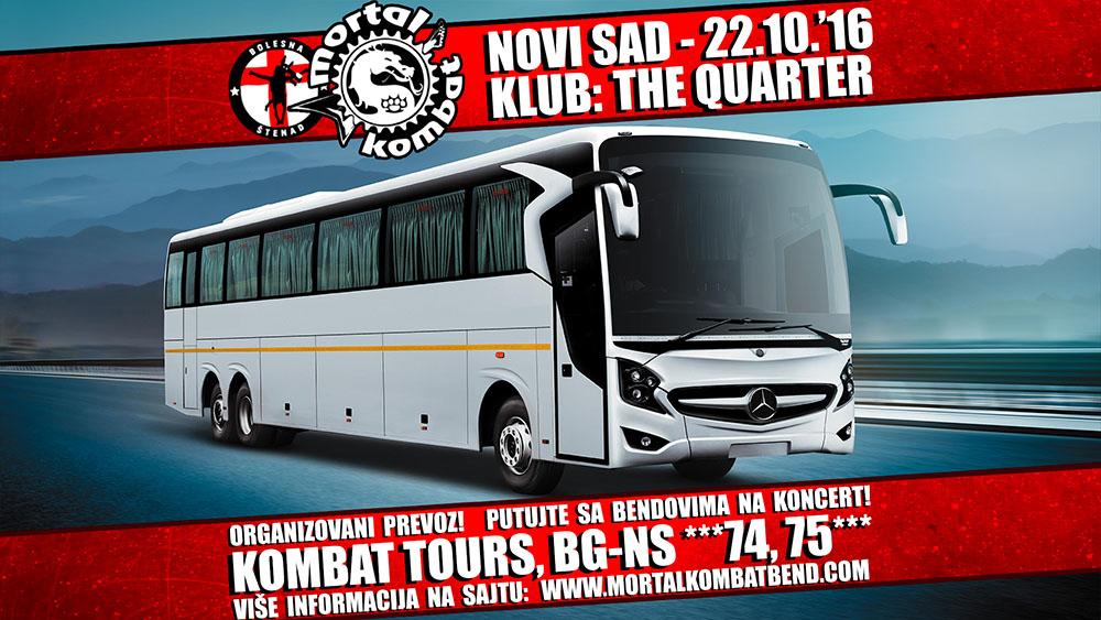 KOMBAT TOURS - Organizovani prevoz