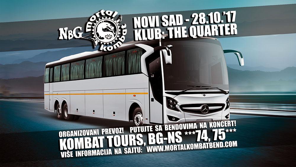 KOMBAT TOURS – Organizovani prevoz